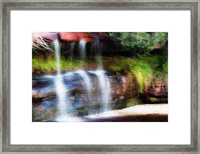 Framed Print featuring the photograph Fall by Miroslava Jurcik