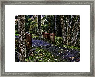 Fall Morning Framed Print by Ron Roberts