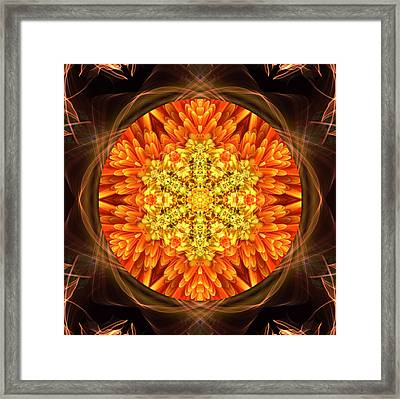 Fall Nature Spirit Framed Print