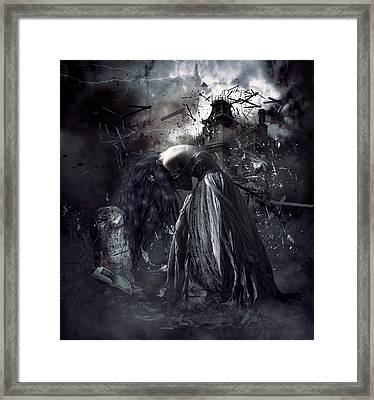 Fall Of The House Of Usher Framed Print by Shanina Conway