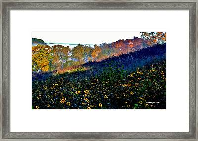 Fall On Garvin Heights Framed Print