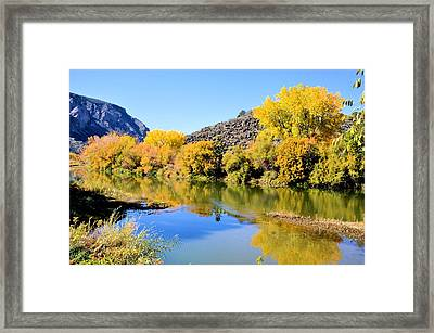 Fall On The Rio Grande Framed Print