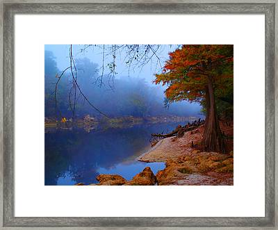 Fall On The Suwannee River Framed Print