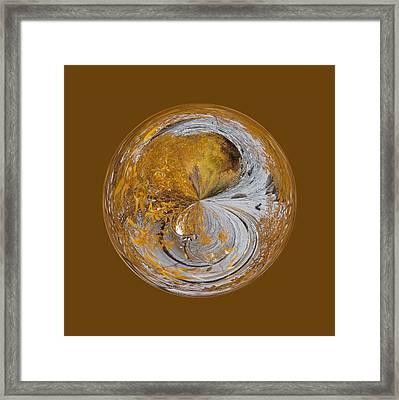 Fall Orb Framed Print