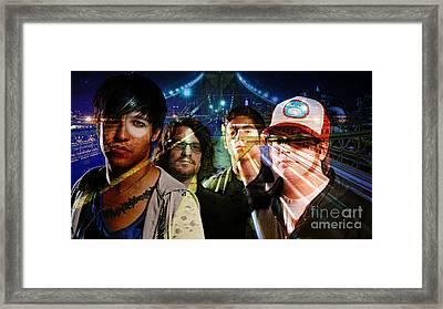 Fall Out Boy Framed Print