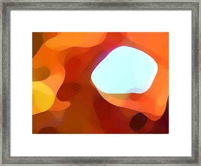 Fall Passage Framed Print