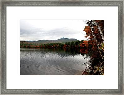 Fall Reflection II Framed Print by Christiane Schulze Art And Photography