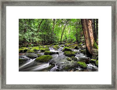 Fall River No. 2 - Berkshire County Framed Print