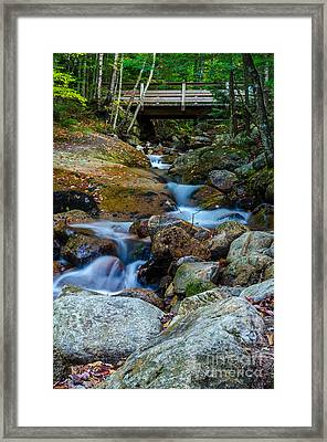 Framed Print featuring the photograph Fall Scene In Nh by Mike Ste Marie