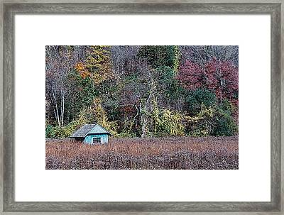 Fall Shed #1 Framed Print by Glenn Cuddihy
