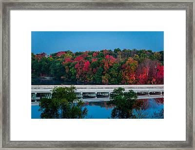 Fall Splendor Framed Print by Gene Sherrill