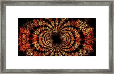 Fall Spray Framed Print by Doug Morgan