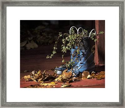 Fall Times Framed Print by Eduard Moldoveanu