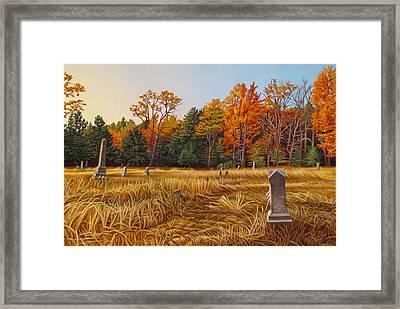Fallbrook Framed Print by Kenneth Cobb