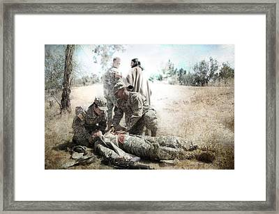 Fallen But Not Lost Framed Print