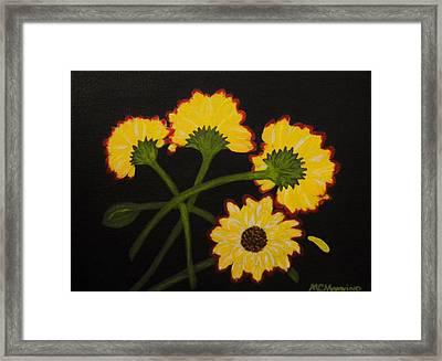 Fallen Framed Print by Celeste Manning