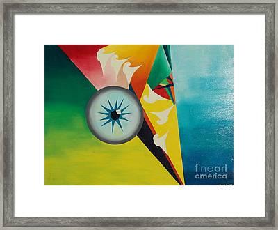 Fallen From Grace Framed Print by PainterArtist FIN