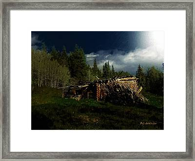 Fallen In Framed Print