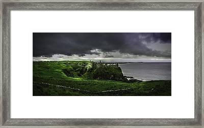 Fallen Kingdom Framed Print by Creative Mind Photography