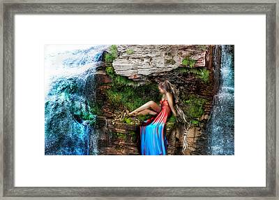 Drop Fault Beauty Framed Print by Starlux  Productions