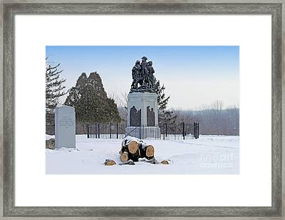 Fallen Timbers Monument  1454  Framed Print by Jack Schultz