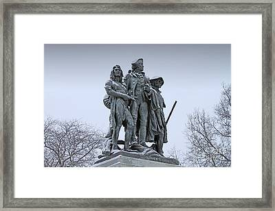 Fallen Timbers Monument  1888 Framed Print by Jack Schultz