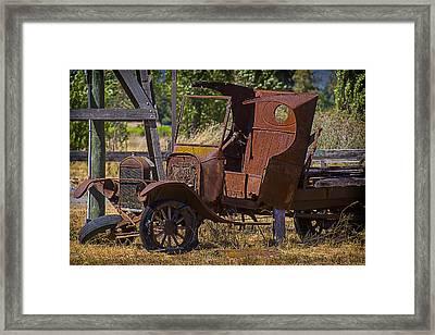 Falling Apart Framed Print by Garry Gay