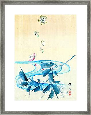 Falling Blossoms 1870 Framed Print by Padre Art