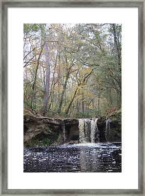 Falling Creek Falls - Columbia County Park Framed Print