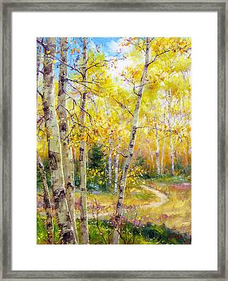 Falling Gracefully Framed Print by Bill Inman
