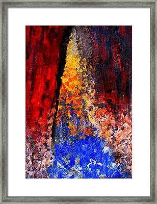Falling Framed Print by Ian  MacDonald