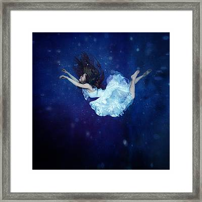 Falling Into Dream Framed Print