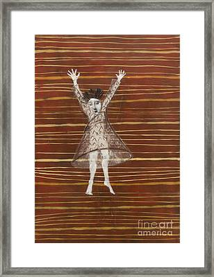 Falling / Jumping Framed Print