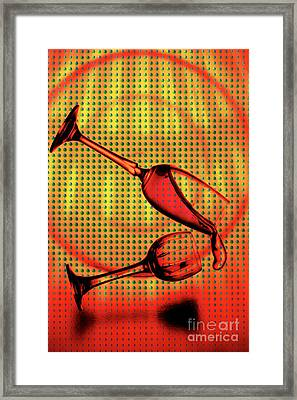 Falling Framed Print by Mauro Celotti