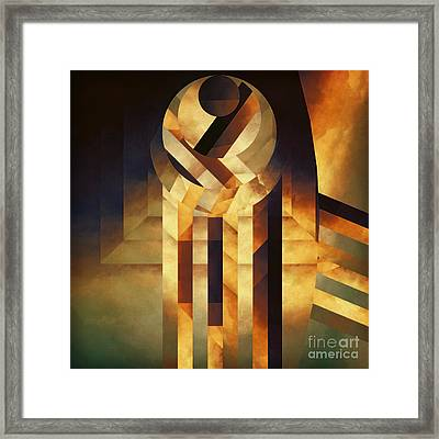 Falling Reality Framed Print by Lonnie Christopher