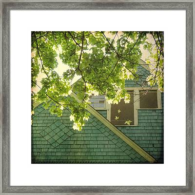 Framed Print featuring the photograph Falling by Sally Banfill