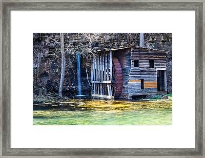 Falling Spring Mill Framed Print by Steven Bateson