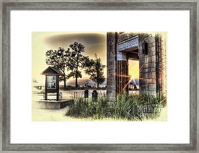 Falling Star Framed Print