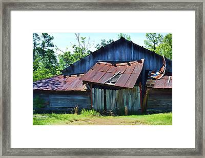 Falling To Pieces Framed Print by Joe Bledsoe