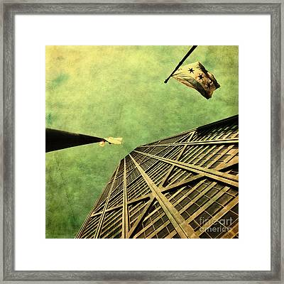 Falling Up Framed Print
