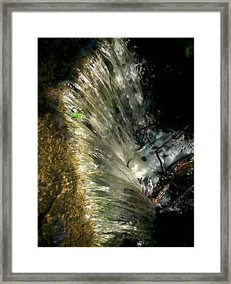 Falling Water Framed Print by Phil Nolan