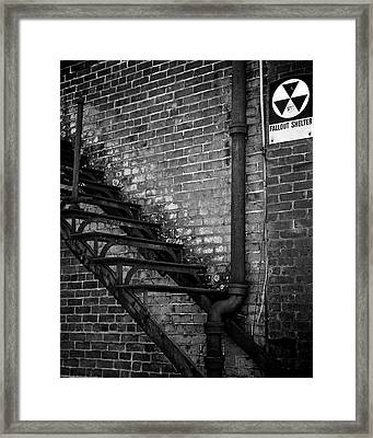 Fallout Framed Print by Brandon Addis
