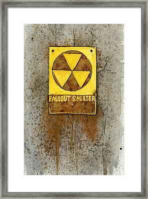 Fallout Shelter #1 Framed Print