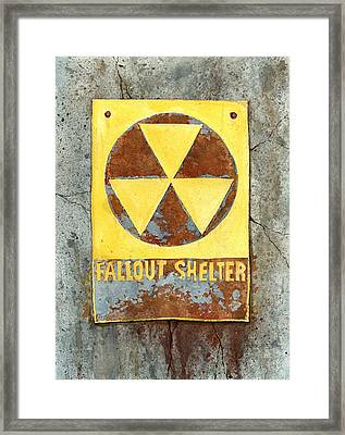 Fallout Shelter #2 Framed Print