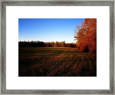 Fallow Field Framed Print