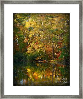 Fallpainting Framed Print