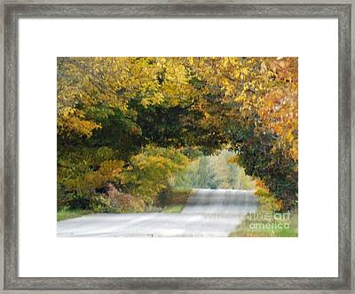 Falls Archway  Framed Print by Brenda Brown