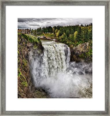 Falls In Love Framed Print