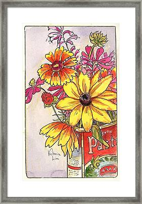 Fall's Last Bouquet Framed Print