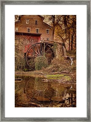 Falls Mill Framed Print by Brett Engle